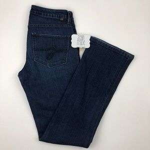 JAG Low Rise Boot Leg Jeans 4x32.5